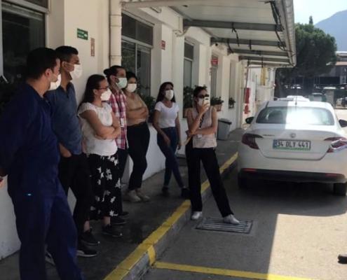 İş Güvenliği İçin 20-21 Eylül'de Bandırma ve İzmir Yolundaydık